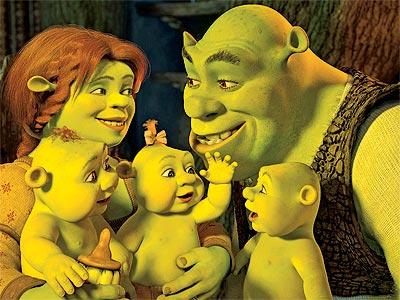 Shrek's Triplets!